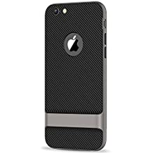 JETech Case for Apple iPhone 6s Plus and iPhone 6 Plus Two-Layer Slim Cover with Shock-Absorption and Carbon Fiber