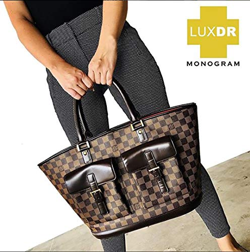 e17cc73c487 LuxDR MONOGRAM Rx Restoration for Canvas Designer Luxury Womens Speedy  Handbags, Neverfull Totes, Luggage - Includes Premium Applicator Pad & ...