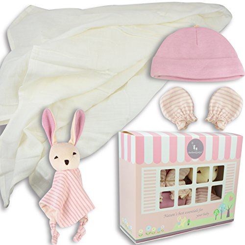 DorDor and GorGor Custom Newborn Baby 3 piece Gift Set (Bunny)