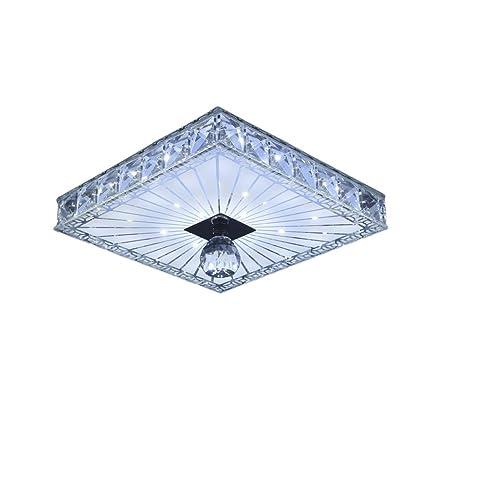 Modern 18cm 12w led crystal ceiling lights chandeliers aisle modern 18cm 12w led crystal ceiling lights chandeliers aislebalcony light white light mozeypictures Gallery