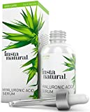 InstaNatural Hyaluronic Acid & Vitamin C Serum for Face - For Wrinkles, Crows Feet, Fine Lines & Dry Skin - With Organic, Natural & Pure Ingredients - Anti Aging Moisturizer for Men & Women - 2 OZ