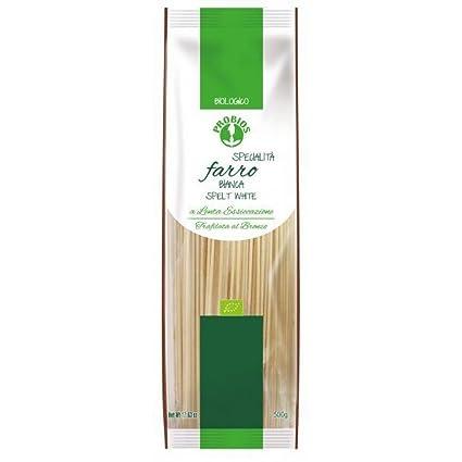 Probios Pasta Blanca Espelta Espaguetis Orgánica 500g ...