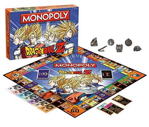 51E2U6bVroL - Dragon Ball Z Monopoly