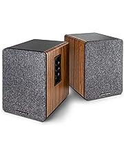 wavemaster Base - rek-luidsprekersysteem (30 Watt) met Bluetooth-streaming en hoofdtelefoonuitgang, actieve boxen, gebruik voor TV/Tablet/Smartphone (66500)