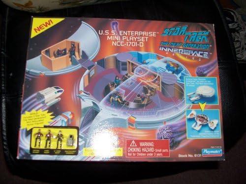 B000GIP4KW Star Trek the Next Generation Innerspace Playset - U.S.S. Enterprise NCC-1701-D 51E2VGQ8CXL.