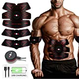 ABS Trainer Muscle Stimulator, Stomach Toner Abdominal Exerciser Slendertone ABS Workout Electric...