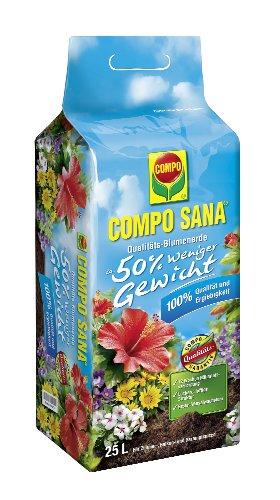 Compo 22200 Sana Qualitäts-Blumenerde, 25 L