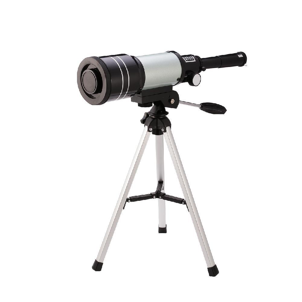 Dyna-Living Telescope for Kids Children Sky Monocular Telescopes for Astronomy Beginners with Tripod Black 70mm, 3X Barlow lens (Silver)