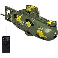 TEEPAO RC U-Boot, wasserdichte Fernsteuerung, Boot mit Wasserkreislauf Kühlsystem, sicher und langlebig, ferngesteuertes U-Boot-Spielzeug für Kinder und Erwachsene