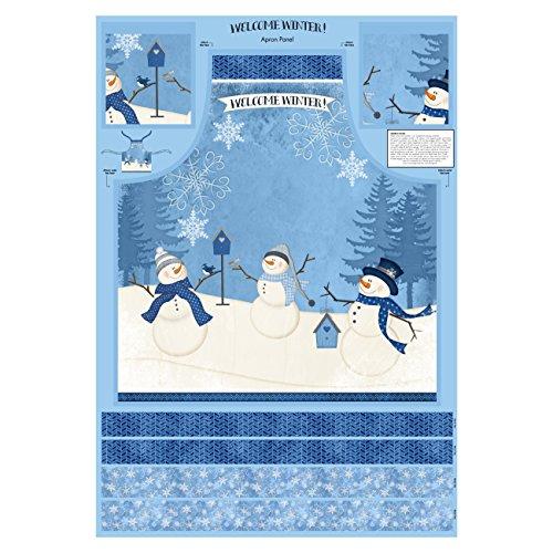 (Wilmington Prints Wilmington Welcome Winter! Apron 30