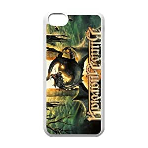 Personality customization TPU Case with Blind Guardian iPhone 5c Cell Phone Case White