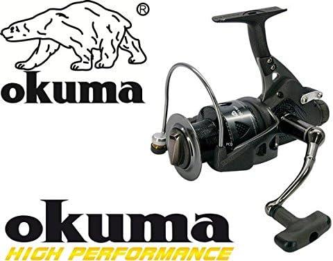 Okuma Trio-65 BF Baitfeeder - Carrete de Pesca, Color Negro ...