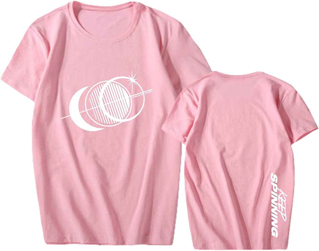 KPOP GOT7 Camisetas de Manga Corta Keep Spinning Impresión Tops ...