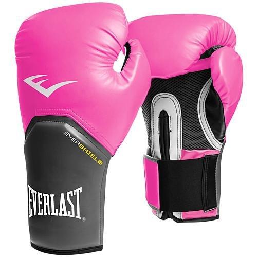 (Everlast Pro Style Elite Training Gloves (Pink, 12)