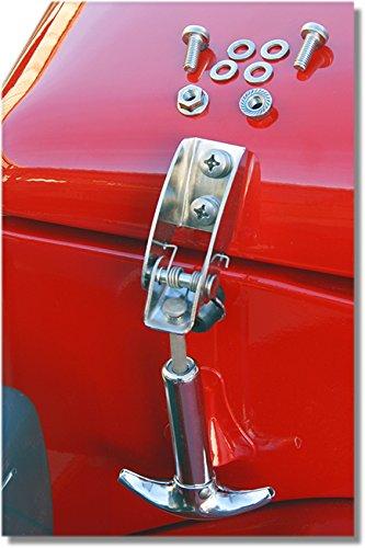 - Hood Hook Land Cruiser FJ40 Stainless Steel with Hardware, Pair