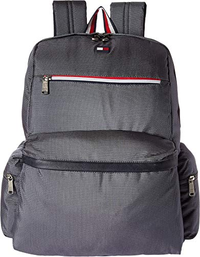 (Tommy Hilfiger Unisex Lenox Hill Backpack Steel One Size)