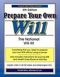 Prepare Your Own Will, Daniel Sitarz, 1892949148