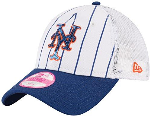 MLB New York Mets Women's Truck Lust 9Twenty Trucker Cap, One Size, (New York Mets Apparel)
