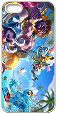 League Of Legends Pool Party Zac Iphone 5 5s Cell Phone Case
