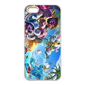 iPhone 4 4s Cell Phone Case White League of Legends Pool Party Zac VS5315869