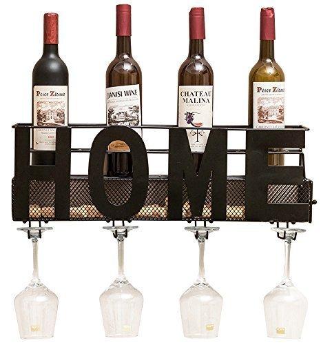 nickel wall wine rack - 7
