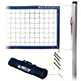 Park & Sun Sports Permanent Outdoor Volleyball Net System: Professional Tournament 4000