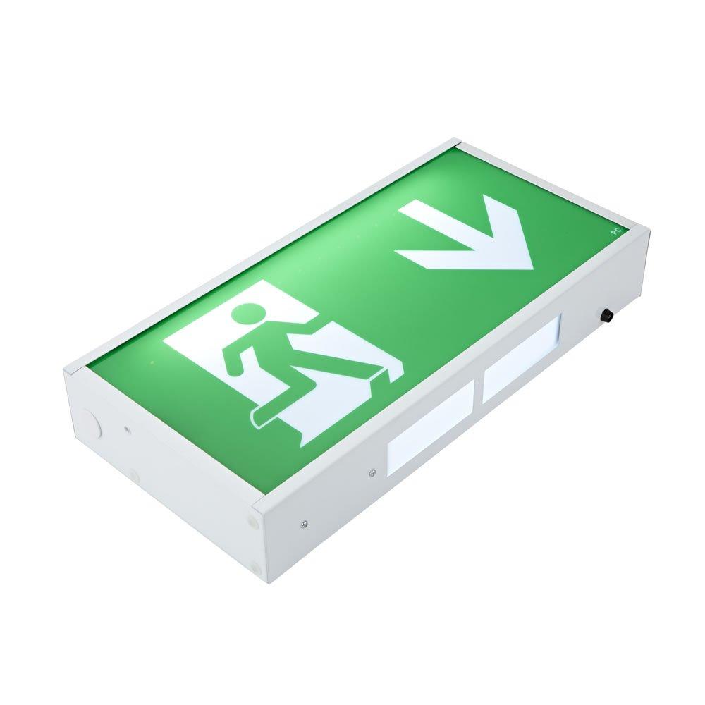 Biard LED 3 Watt Notbeleuchtung Notleuchte Orientierungslicht Exit ...