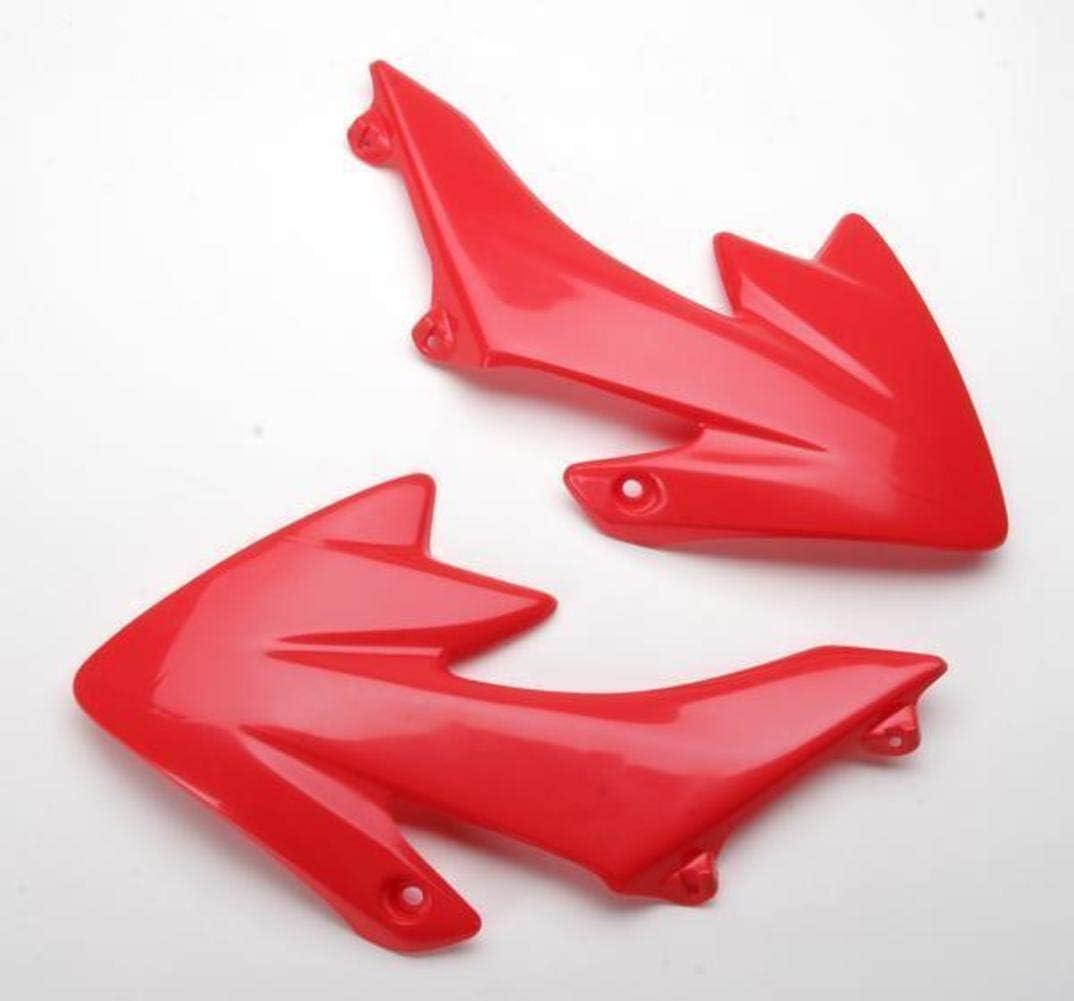 UFO Regular store HO03643-070 Replacement Financial sales sale Plastic FOR HONDA CRF50 RED RAD CVR