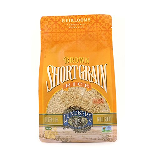 Lundberg Family Farms Short Grain Rice, Brown, 32 Ounce ()