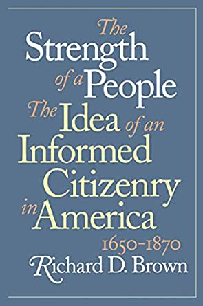 an informed citizenry essay