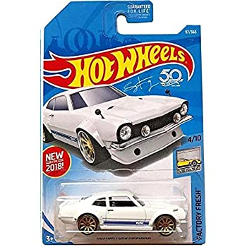 Hot Wheels 2018 50th Anniversary Factory Fresh Custom Ford Maverick 97/365, White