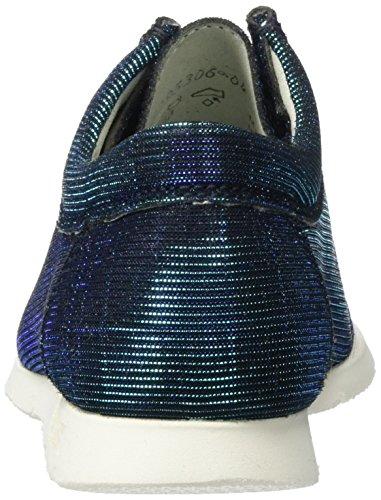 d Mocassini 008 Blu 141 Grashopper Blue Donna Sioux aqua black OxpwHqR