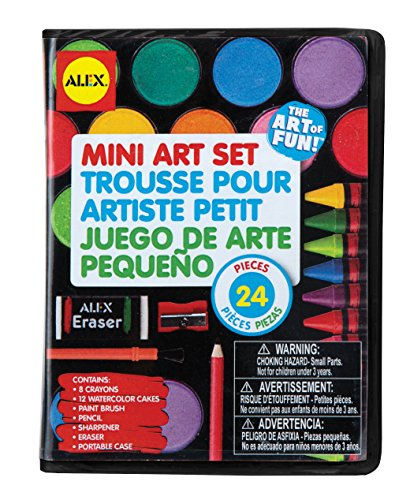 ALEX Toys Artist Studio Mini Art Set (Pencil Art Watercolor Set)