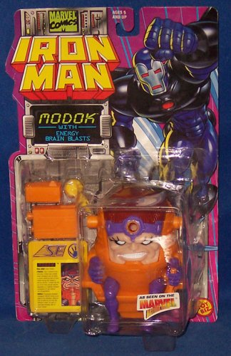 MODOK With Energy Blasts * Marvel Action Hour * 1995 Marvel Comics Iron Man Action Figure & Accessories