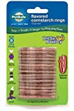 PetSafe Busy Buddy Refill Ring Dog Treats for select Busy Buddy Dog Toys, Bacon Flavored Cornstarch, Size B