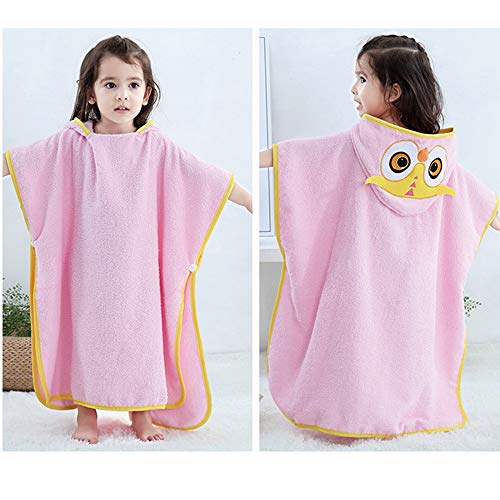 sunlifly Kids Bath Hooded Towels 100% Cotton Large 55