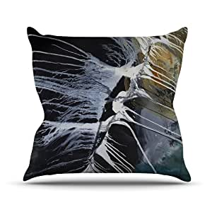Kess internos de Steve Dix huesos interior/al aire libre manta almohada