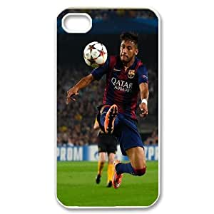 High Quality Phone Back Case Pattern Design 6Football Star Neymar Series- For Iphone 4 4S case cover