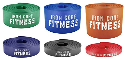 Pull up Assist Bands – Power Resistance Bands for Weight Coaching, Crossfit, Mobility – Light Medium Heavy Powerlifting bands for Warm up, Stretching, Fitness – Gym Quality Fitness Bands with Guide – DiZiSports Store