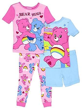 Amazon Care Bears Toddler Girls 4pc Cotton Set Clothing