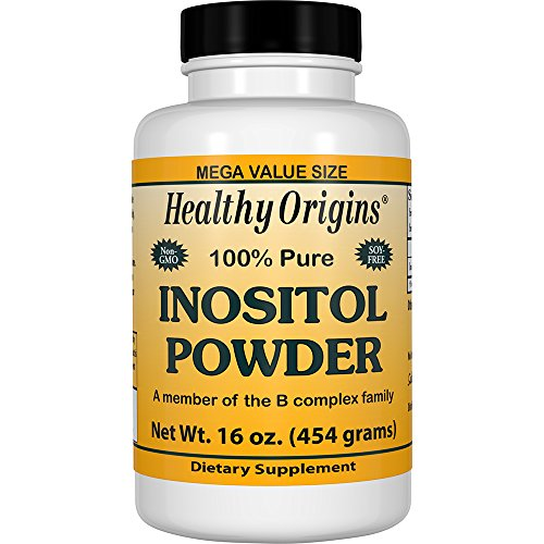 - Healthy Origins Inositol Powder, 16 Ounce