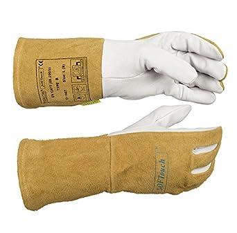 Weldas Softouch, très doux TIG Gants de soudure 10–1007, toutes les tailles de haute qualité, 8,5 (M), 2
