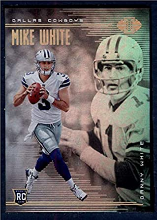 bf85d59bea6 Amazon.com: 2018 Panini Illusions Football #31 Danny White/Mike White  Dallas Cowboys Rookie RC Official NFL Trading Card: Collectibles & Fine Art