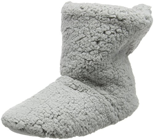 Eaze Grey Fleece, Zapatillas de Estar por Casa para Mujer Gris - gris (gris)