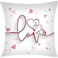 Print Pillow Case Polyester Sofa Car Cushion Cover Home Decor 45x45cm