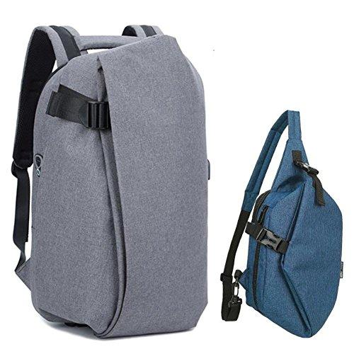Cooler rucksack Herren rucksack Multifunktionale rucksack Mode-trend taschen Schulranzen Männliche freizeittasche computer-U J