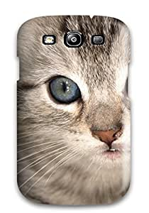 Excellent Galaxy S3 Case Tpu Cover Back Skin Protector Cat