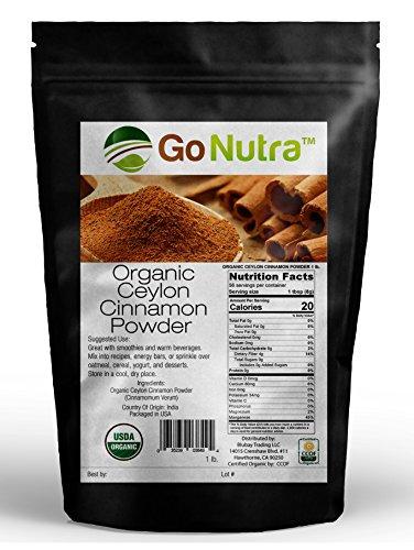 Price comparison product image Ceylon Cinnamon Organic Certified 1 lb Sri Lanka 16 oz Non-Gmo