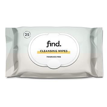 FIND - Toallitas desmaquilladoras delicadas (Adecuadas para pieles sensibles) - 6x25 (150 toallitas)