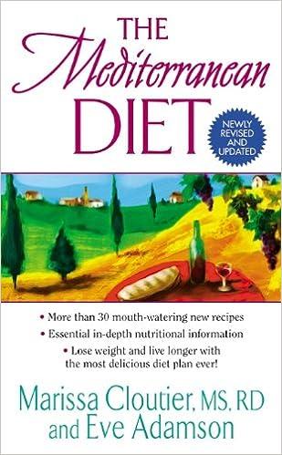 The Mediterranean Diet Marissa Cloutier Eve Adamson 9780060578787